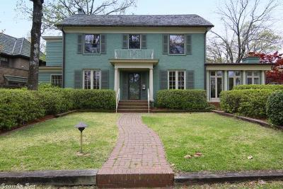 Little Rock Single Family Home New Listing: 5105 Edgewood Road