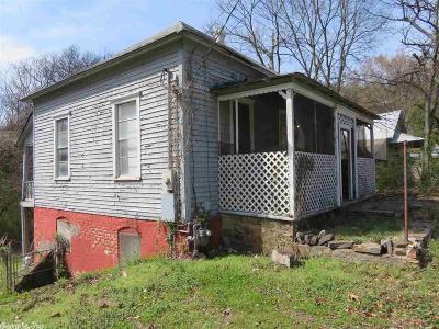 Hot Springs AR Single Family Home New Listing: $33,000