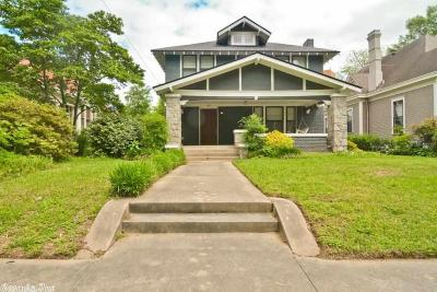 Little Rock Single Family Home New Listing: 1819 S Gaines Street
