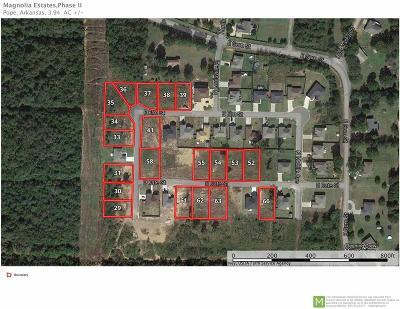 Russellville Residential Lots & Land For Sale: Lot 54 Magnolia Ridge Estates