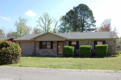 Russellville AR Single Family Home New Listing: $107,000