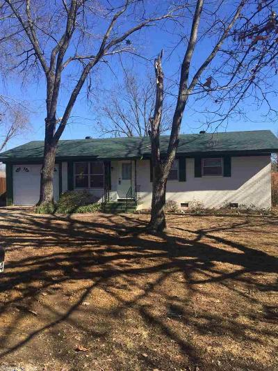 Russellville Single Family Home Back On Market: 1004 N Jackson Ave.