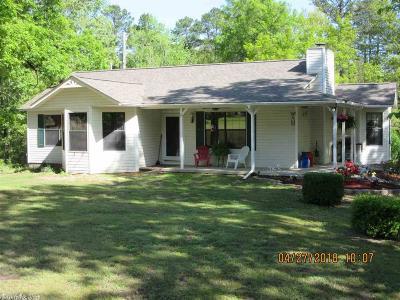 Pulaski County, Saline County Single Family Home Take Backups: 15325 Mail Route Road