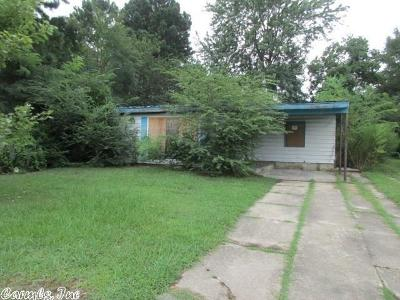 Pine Bluff AR Single Family Home For Sale: $3,800