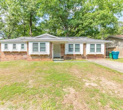 Little Rock Single Family Home New Listing: 76 W Windsor Drive