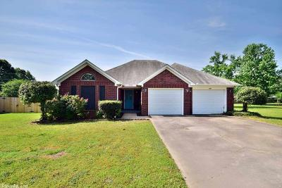Beebe Single Family Home Price Change: 1809 Applewood Cove