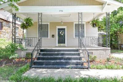 Little Rock Single Family Home New Listing: 3516 W Capitol Avenue