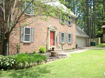 Little Rock AR Single Family Home New Listing: $199,000