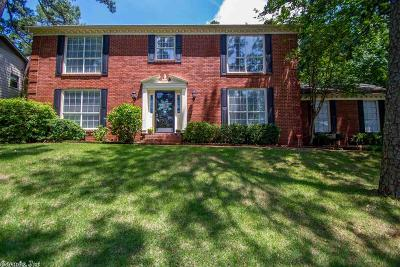 Little Rock Single Family Home New Listing: 227 Valley Club Circle