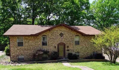 Little Rock Single Family Home New Listing: 8707 Evergreen Drive