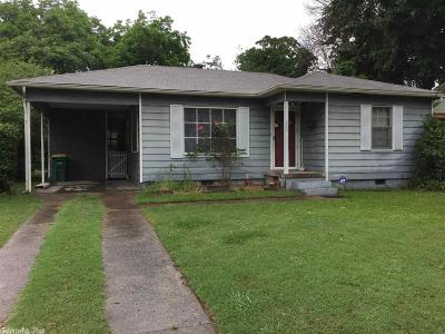 North Little Rock Single Family Home New Listing: 705 Water Street