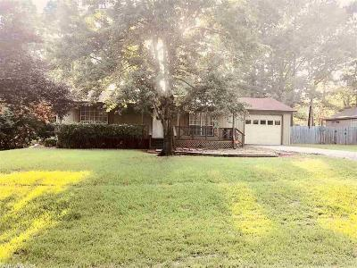 Hensley AR Single Family Home For Sale: $134,900