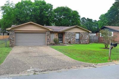 Little Rock AR Single Family Home Back On Market: $105,000
