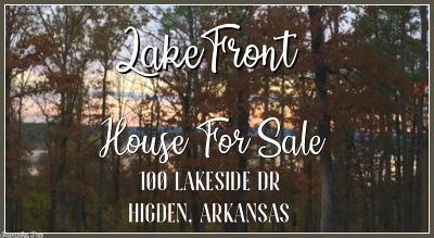 Higden Single Family Home For Sale: 100 Lakeside Dr