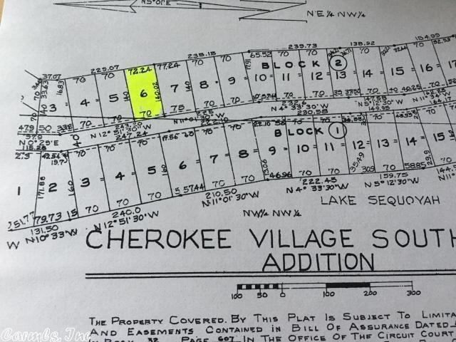 E Lakeshore Drive, Cherokee Village, AR | MLS# 18018024