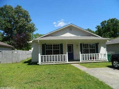 Cabot Single Family Home Back On Market: 201 N Monroe