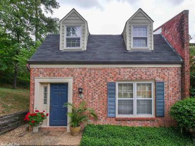 Little Rock AR Condo/Townhouse New Listing: $169,900
