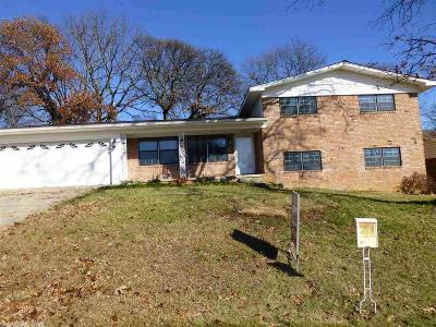North Little Rock Single Family Home Price Change: 3612 Pope