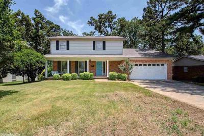 Little Rock Single Family Home New Listing: 3123 Ridge Pass Road