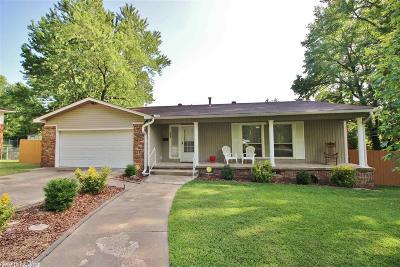 Benton Single Family Home New Listing: 1223 Jameson Drive