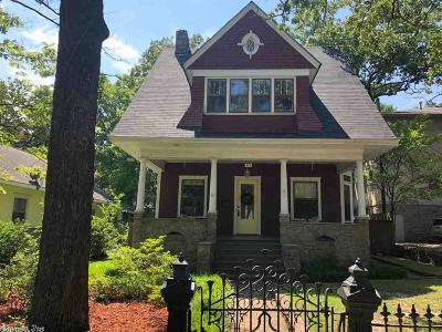 Little Rock Single Family Home New Listing: 518 Beechwood Street