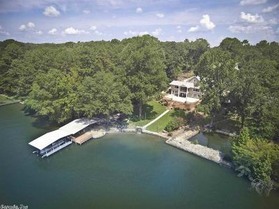 Garland County Single Family Home For Sale: 116 Paradise Point