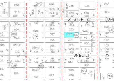 Residential Lots & Land For Sale: 3709 Ludwig
