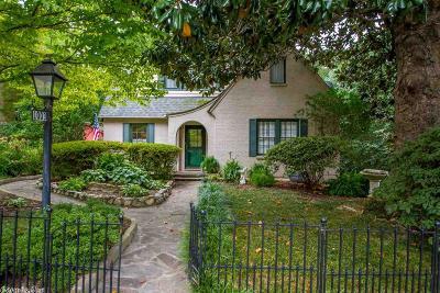 Hot Springs Single Family Home For Sale: 1003 Prospect Avenue