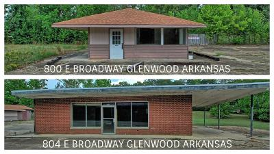 Glenwood Commercial For Sale: 800 E Broadway Street