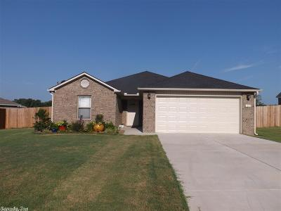 Beebe Single Family Home For Sale: 113 Wildflower Dr.