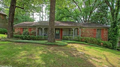 Little Rock Single Family Home For Sale: 8017 Harmon