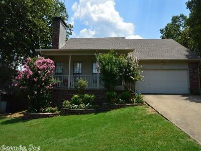 Maumelle Single Family Home Price Change: 116 Apple Blossom Loop