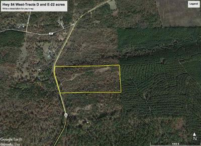 Amity Residential Lots & Land For Sale: 12.6 acres Hwy 84 West
