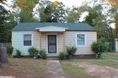 Little Rock AR Single Family Home New Listing: $22,500