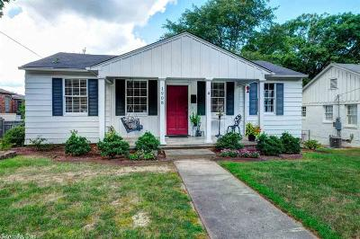 Little Rock Single Family Home New Listing: 1908 N Hughes
