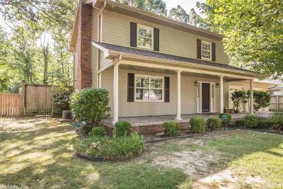 Maumelle Single Family Home For Sale: 8 Yazoo Cove