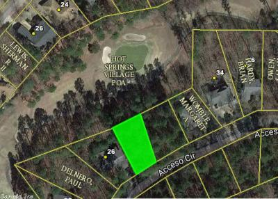 Hot Springs Village Residential Lots & Land New Listing: 28 Acceso Circle
