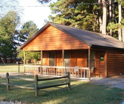 Heber Springs Single Family Home For Sale: 100-1W Swinging Bridge Dr #Cabin 1W