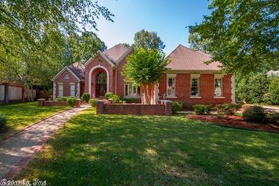 Little Rock Single Family Home For Sale: 15 Hickory Creek Drive