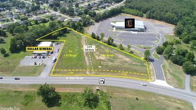 Cabot Residential Lots & Land For Sale: 3510 W Main Lot 3 Highway