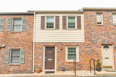 Little Rock Condo/Townhouse For Sale: 1824 Hughes Street #9