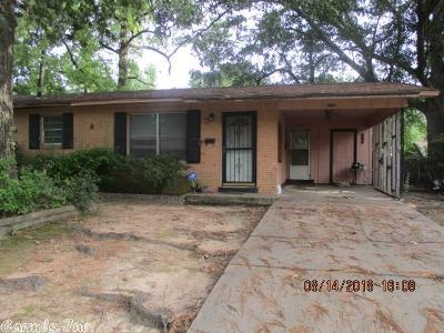Pine Bluff Single Family Home For Sale: 3110 Tulip Street