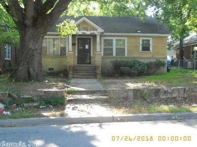 Little Rock Single Family Home New Listing: 2409 Johnson Street