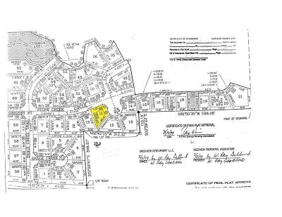Garland County Residential Lots & Land New Listing: Lot 11 Shale Creek Village