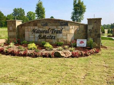 Maumelle Residential Lots & Land New Listing: Lot 19 Natural Trail Estates