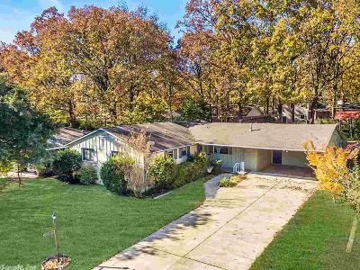 Little Rock Single Family Home For Sale: 6 Bertwood Drive