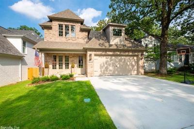 Little Rock Single Family Home For Sale: 2909 N University