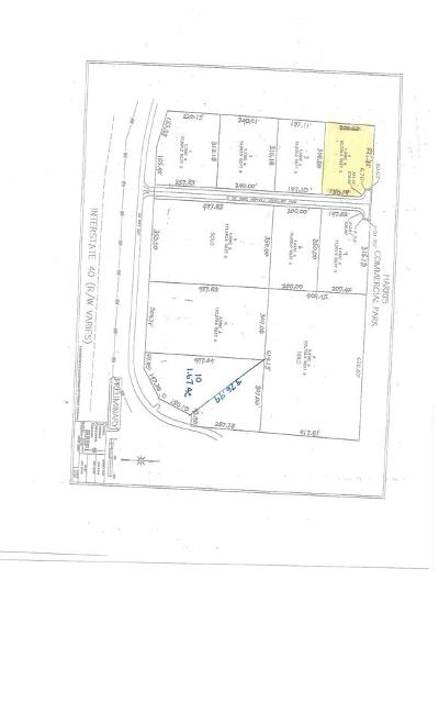 Morrilton Residential Lots & Land For Sale: Lot 4 Harris Commercial Park