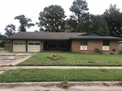 Pine Bluff Single Family Home For Sale: 1005 S Wisconsin