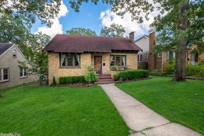Little Rock Single Family Home Back On Market: 325 N Schiller Street